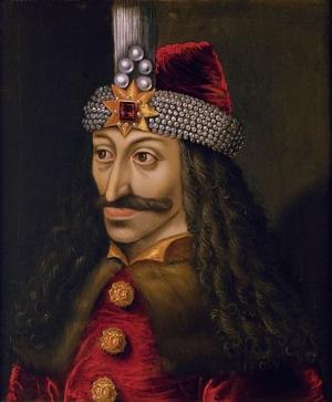 Earliest known portrait of Vlad the Impaler, ca. 1560, Austria