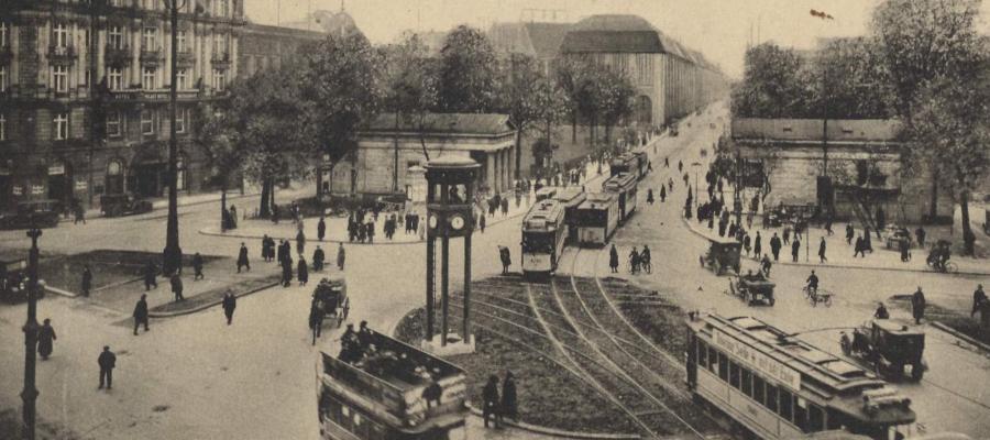 Potsdamer Platz, Berlin, 1920s.