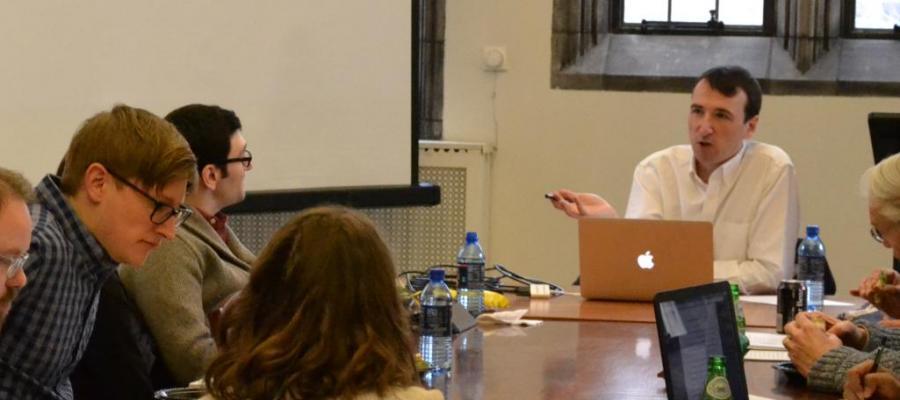 A UChicago workshop in action